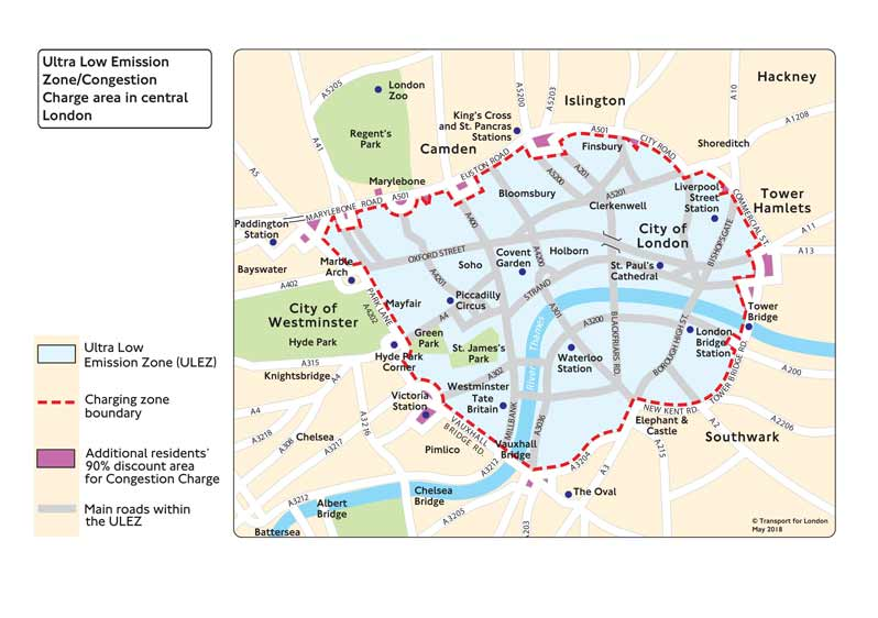 What does the Ultra Low Emission Zone (ULEZ) mean for you?